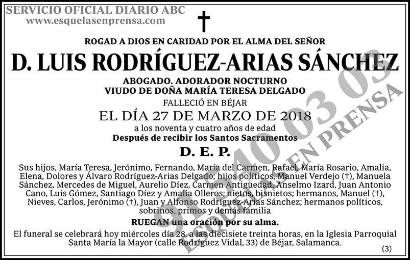 Luis Rodríguez-Arias Sánchez